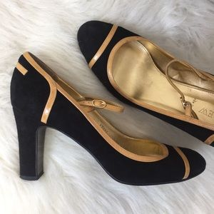 J. Crew Spencer Suede Mary Jane Heels Size 8.5